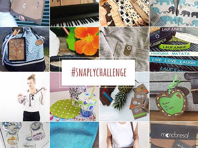 Die besten #Snaply-Nähprojekte im April | Die #snaplychallenge auf Instagram