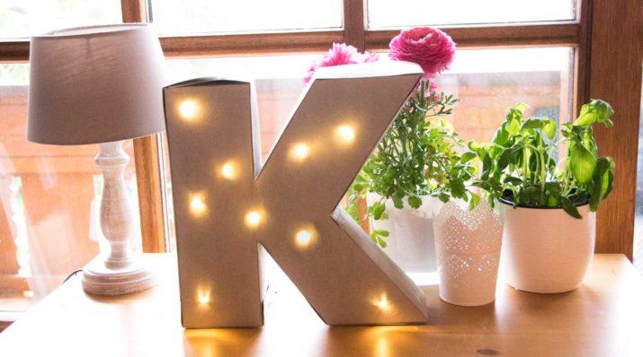 DIY-Anleitung: Leuchtbuchstaben aus SnapPap