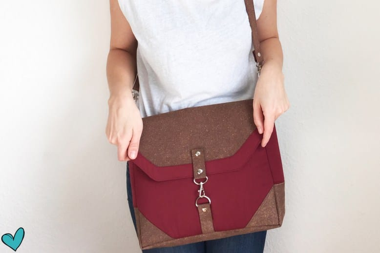 """Tasche """"Klein-Smilla"""" aus ReLeda"""