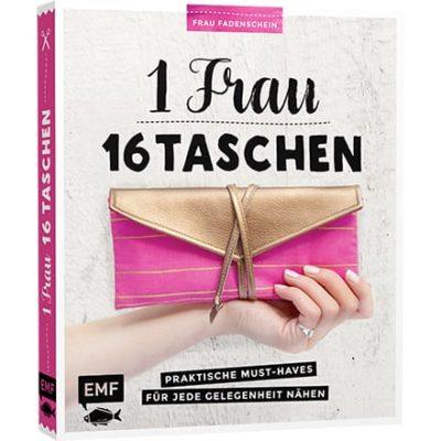 Buchtipp: 1 Frau – 16 Taschen