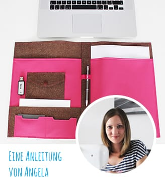 "DIY-Anleitung & Kostenloses Schnittmuster: Organizer ""Penny"""