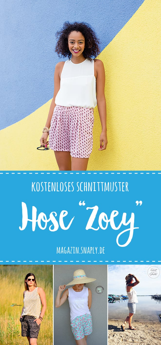 "Kostenloses Schnittmuster: Hose ""Zoey"""