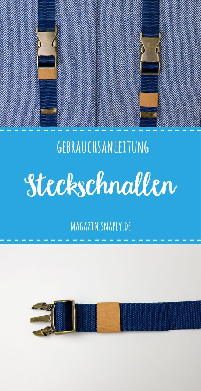 Anleitung Steckschnalle