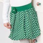Kostenloses Schnittmuster: Ballonrock für Mädchen nähen