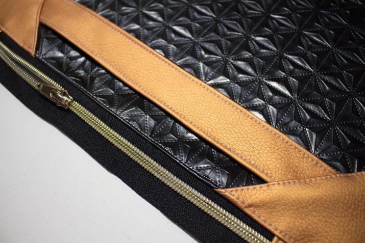 "Kostenloses Schnittmuster: Elegante Clutch ""Glam Bag"""