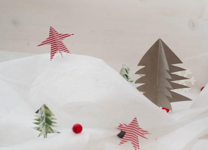 Plotter-Freebie: Weihnachtliche Steckdeko