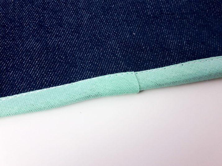 Gebrauchsanleitung: Kanten mit Schrägband einfassen