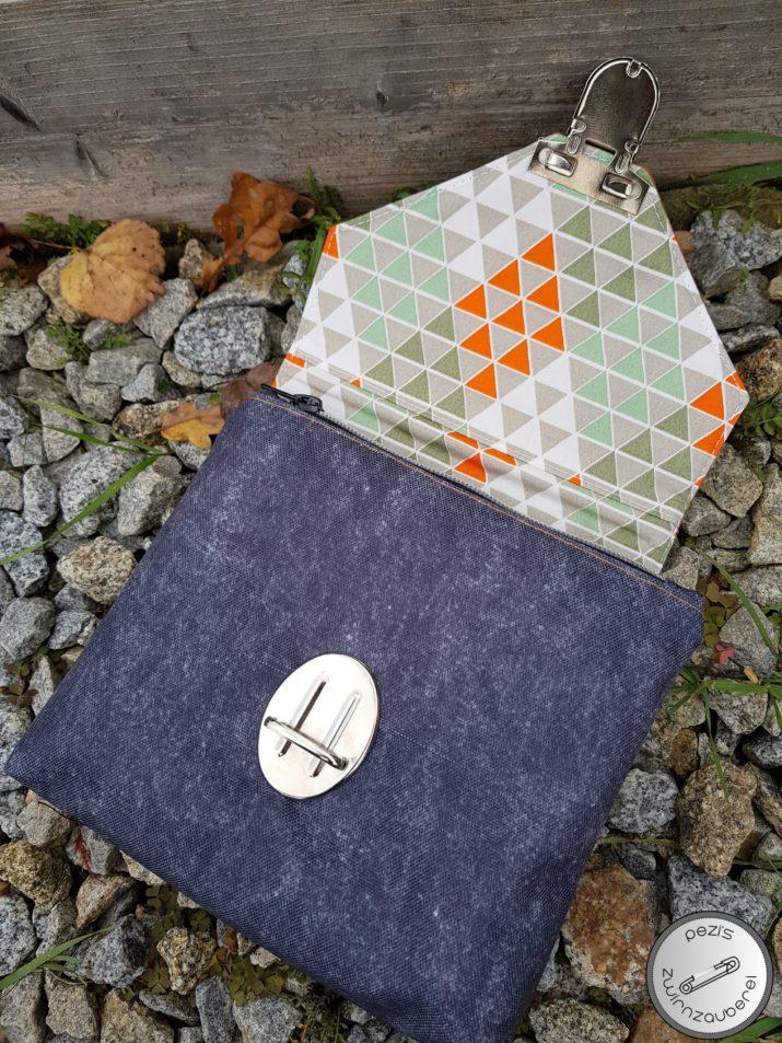 Die besten #Snaply-Nähprojekte im Oktober | Kosmetiktasche mit Pinselfach