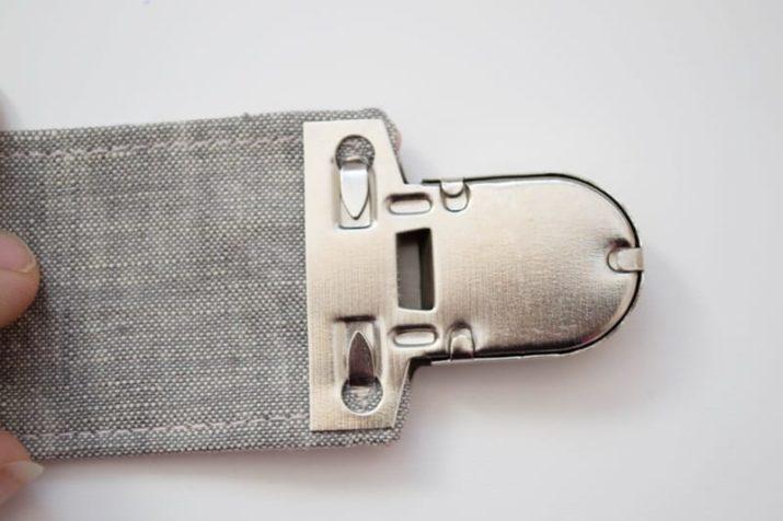 Gebrauchsanleitung: Steckschloss / Mappenschloss anbringen