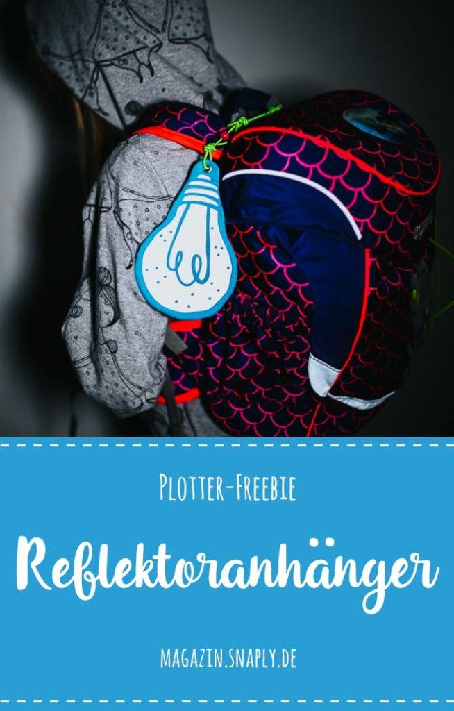 Plotter-Freebie: Reflektor-Anhänger