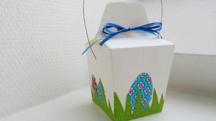 Kostenloses Schnittmuster: Take-Away-Boxen im China-Style