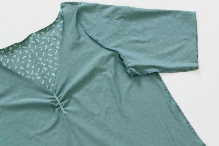 Kostenloses Schnittmuster: Plus-Size-Shirt Havanna | Snaply-Magazin
