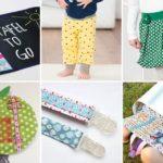 Kostenlose Schnittmuster: 6 Nähprojekte für Kinder