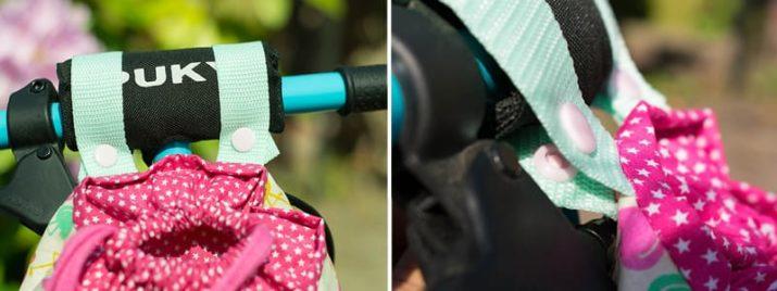 Kostenloses Schnittmuster: Lenkertasche für Kinderfahrrad oder Laufrad