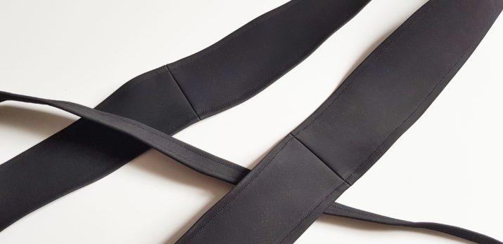Kostenloses Schnittmuster: Taillengürtel und Clutch
