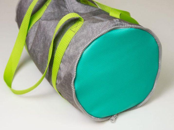 Kostenloses Schnittmuster: Sporttasche Paraderolle