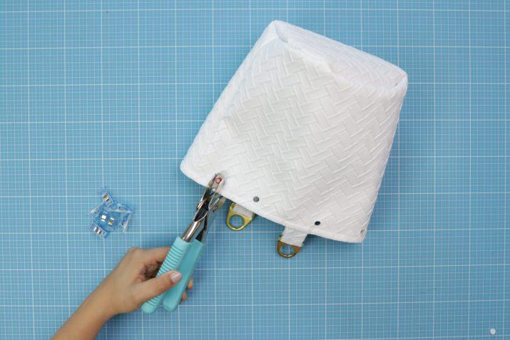 Kostenloses Schnittmuster: Mini Bucket Bag