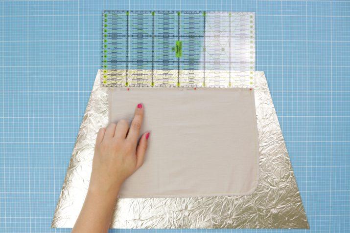 Kostenloses Schnittmuster: Origami-Tasche