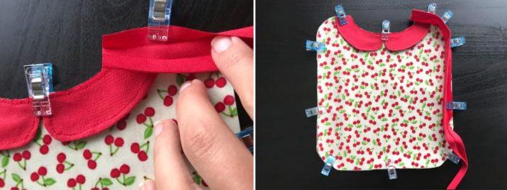 Kostenloses Schnittmuster: Süße Babylätzchen in drei Varianten