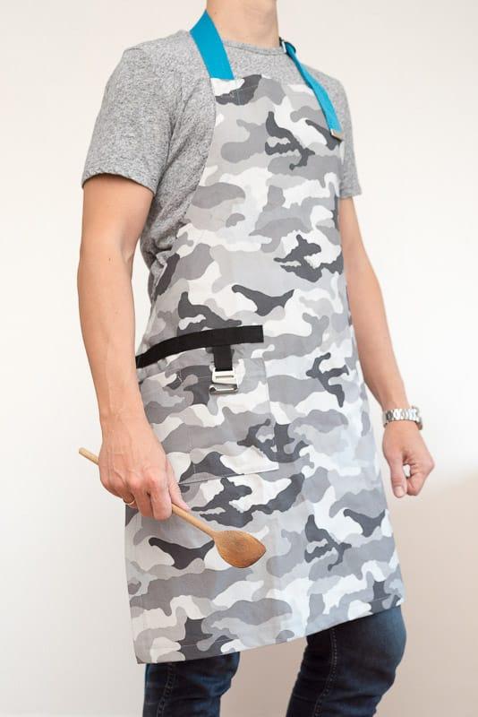 Kostenloses Schnittmuster Kochschürze LeCook