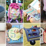 Kostenlose Schnittmuster: 8 Geschenkideen für Kinder