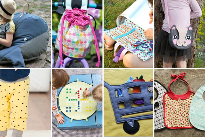 Kostenlose Schnittmuster: Geschenkideen für Kinder
