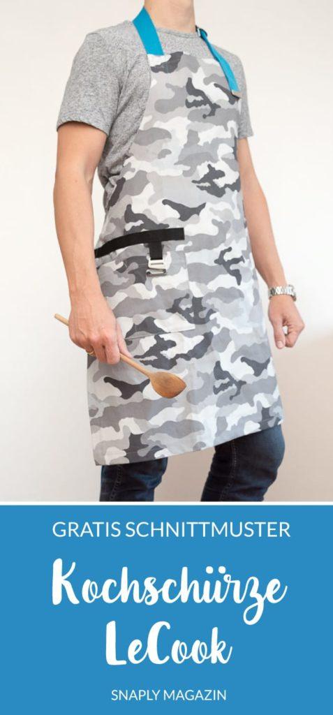 Kostenlose Schnittmuster Kochschürze Herren