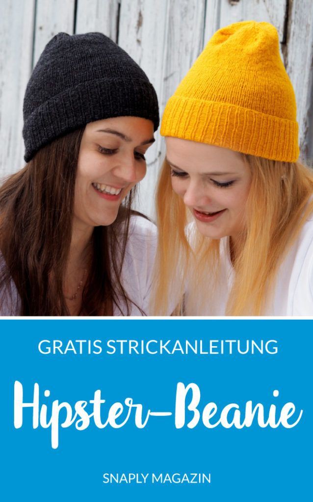 Kostenlose Strickanleitung Hipster-Beanie