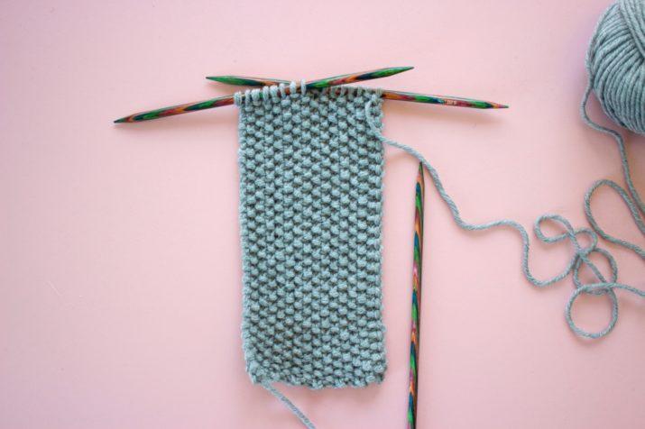 Kostenlose Strickanleitung Stirnband mit Twist