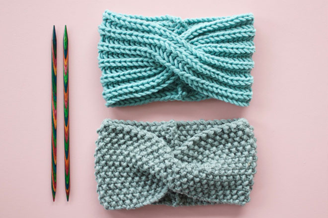 Veröffentlichungsdatum: bieten viel wähle authentisch Kostenlose Strickanleitung: Stirnband mit Twist | Snaply-Magazin