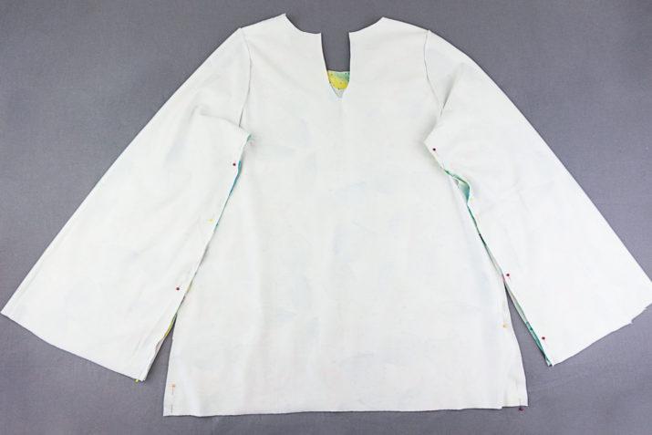 Kostenloses Schnittmuster Pullover Marie