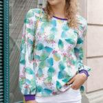 "Kostenloses Schnittmuster: Damen-Pullover ""Marie"""