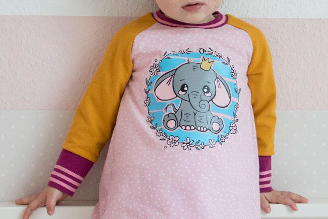 Kostenlose Plotterdatei: Elli der kleine Elefant