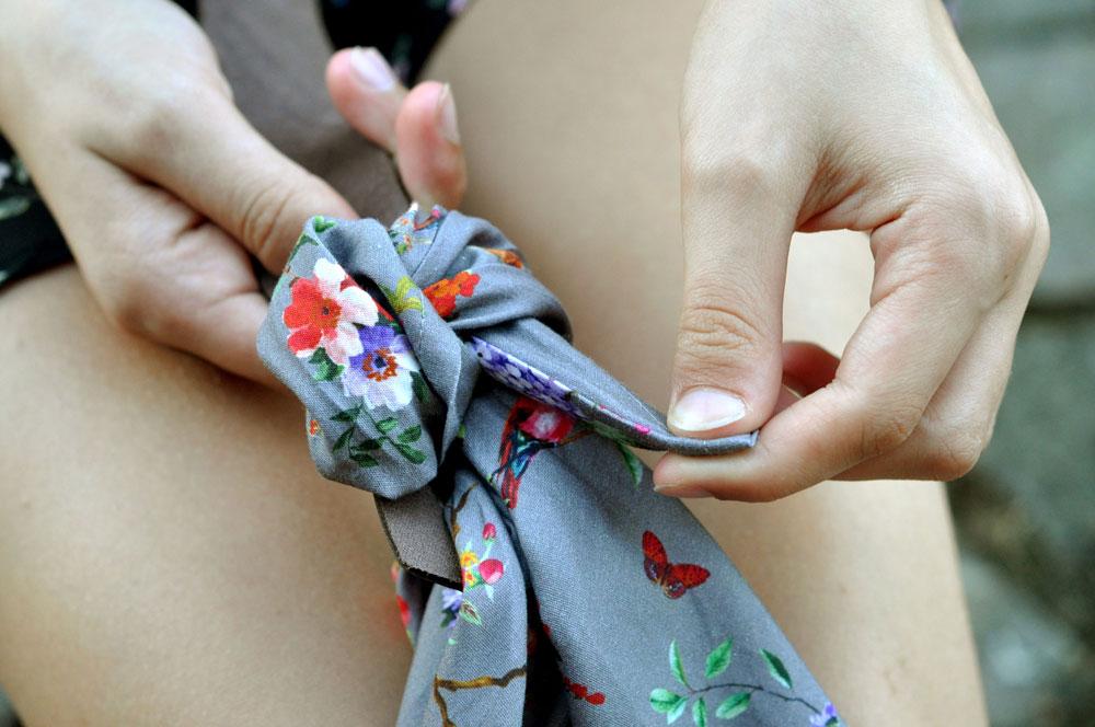 Miyako Taschenhenkel anbringen Anleitung