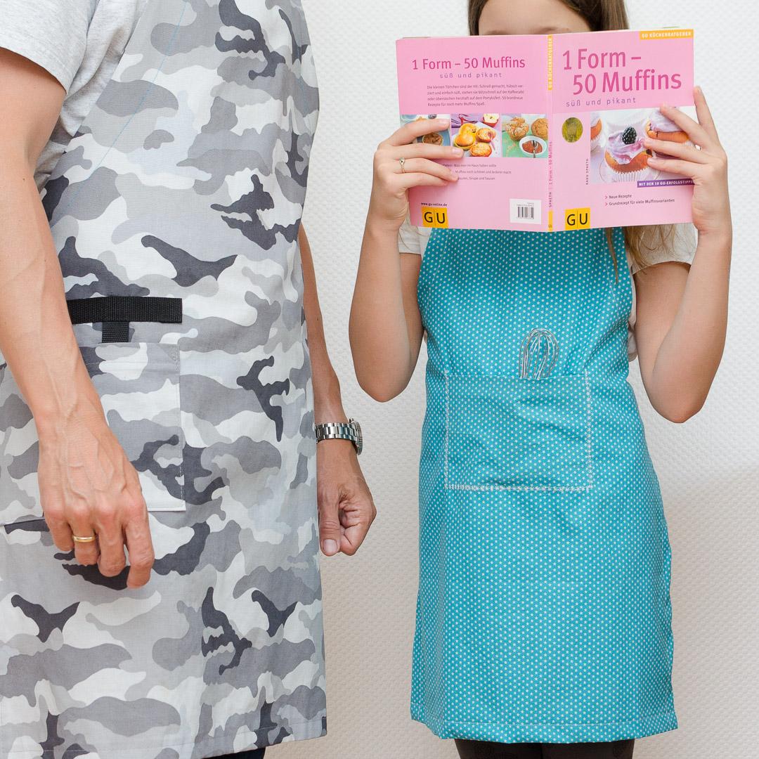 Nahtipp Schurzen Im Papa Kind Partnerlook Snaply Magazin