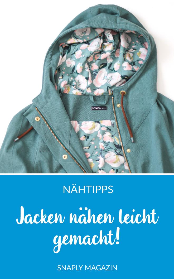 Tipps & Tricks Jacken nähen