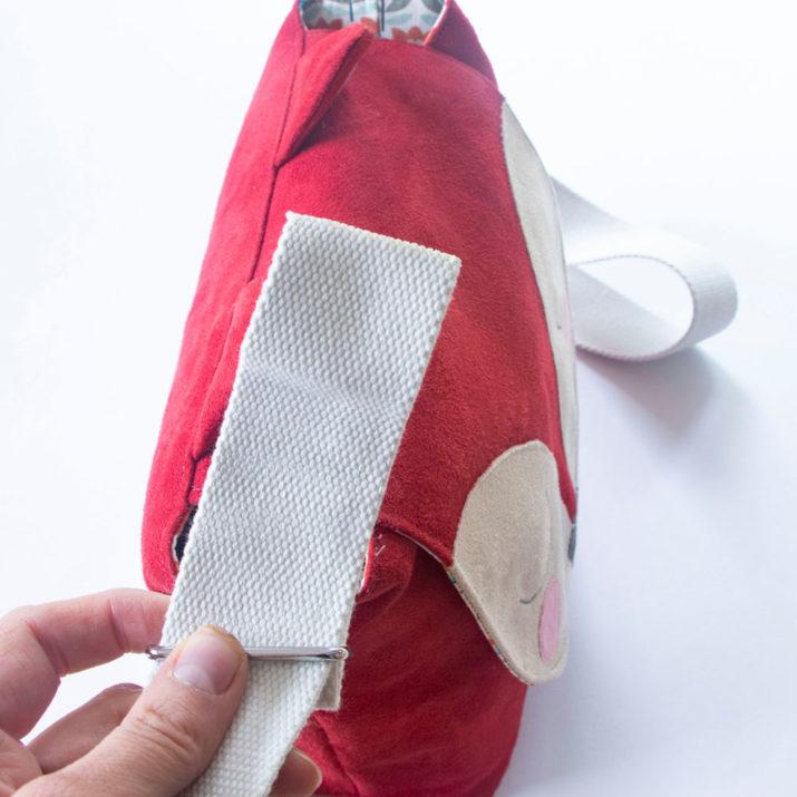 Kindertasche Fuchs - Schnittmuster kostenlos