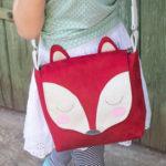 "Kindertasche ""Fuchs"" – kostenloses Schnittmuster"