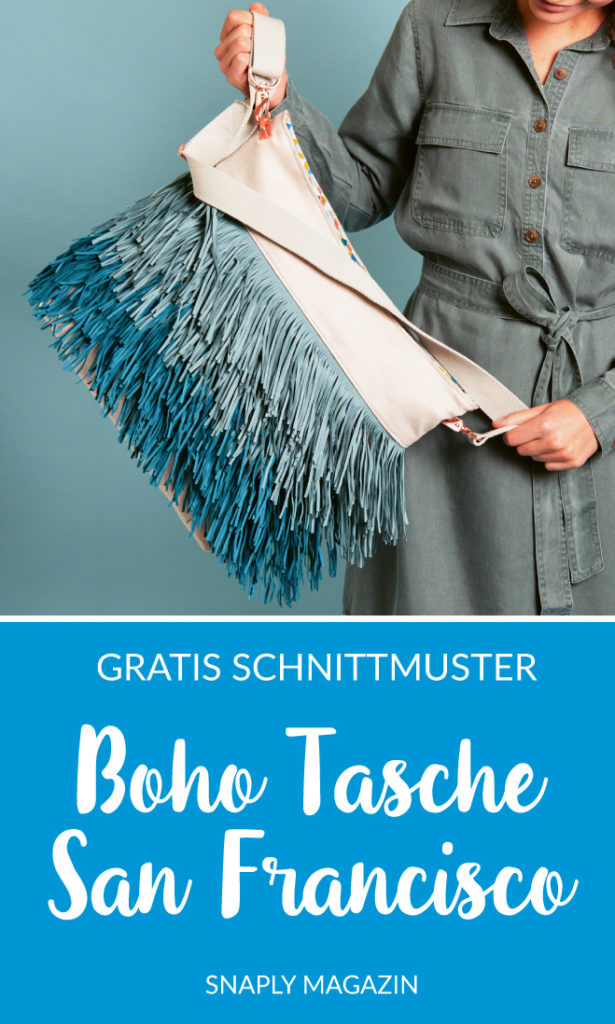 Boho-Tasche nähen – Schnittmuster kostenlos