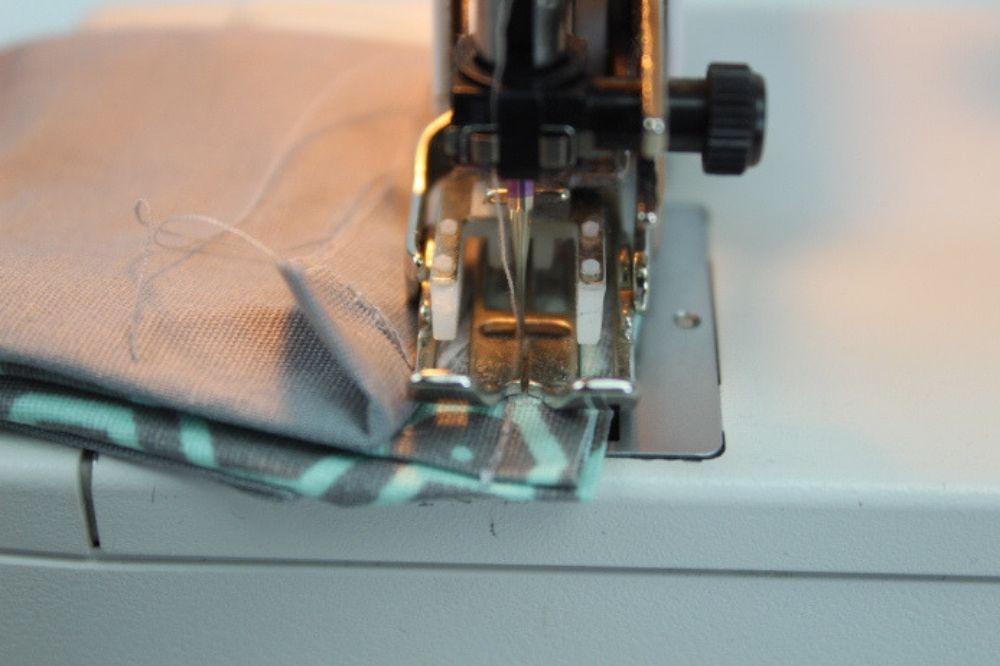 Handarbeitstasche nähen  – Schnittmuster kostenlos