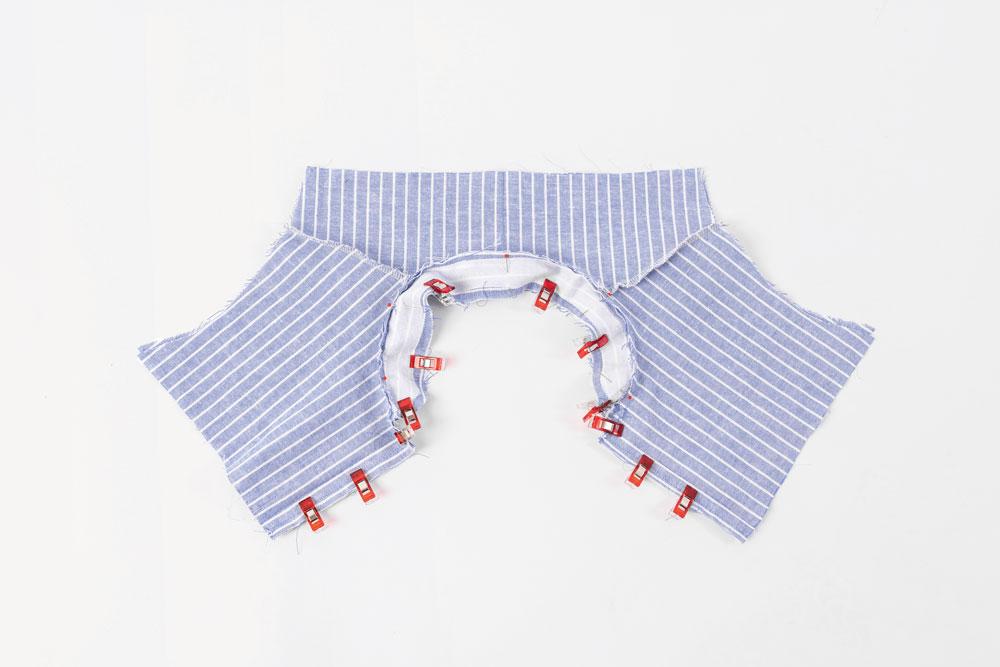 Kinder-Hemd mit Stehkragen nähen – Schnittmuster kostenlos