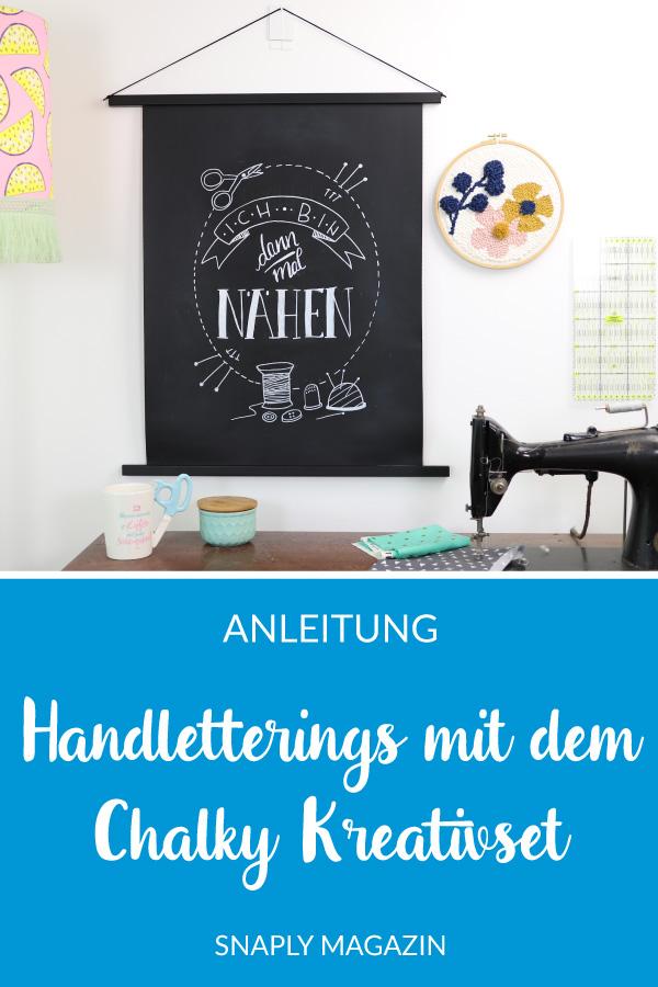 Chalky Kreativset Handlettering – Vorlage kostenlos