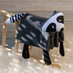 Waschbär-Decke nähen – kostenloses Schnittmuster
