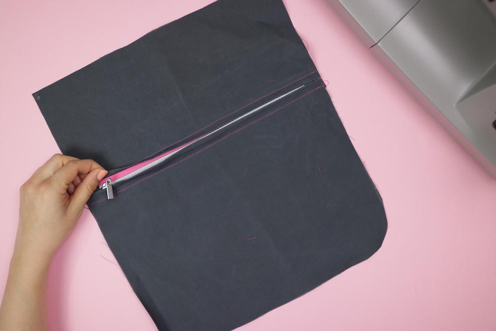 Laptop-Rucksack #OilskinOlli nähen – Schnittmuster kostenlos