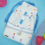 Kostenloses Schnittmuster: 2-in1-Kühltasche #CooleJule mit integriertem Rucksack