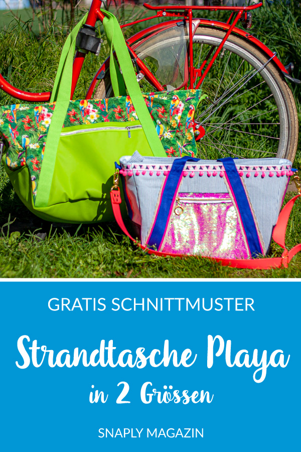 "Strandtasche ""Playa"" nähen – Schnittmuster kostenlos"