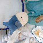 Waschhandschuh für saubere Fischlein – kostenloses Schnittmuster