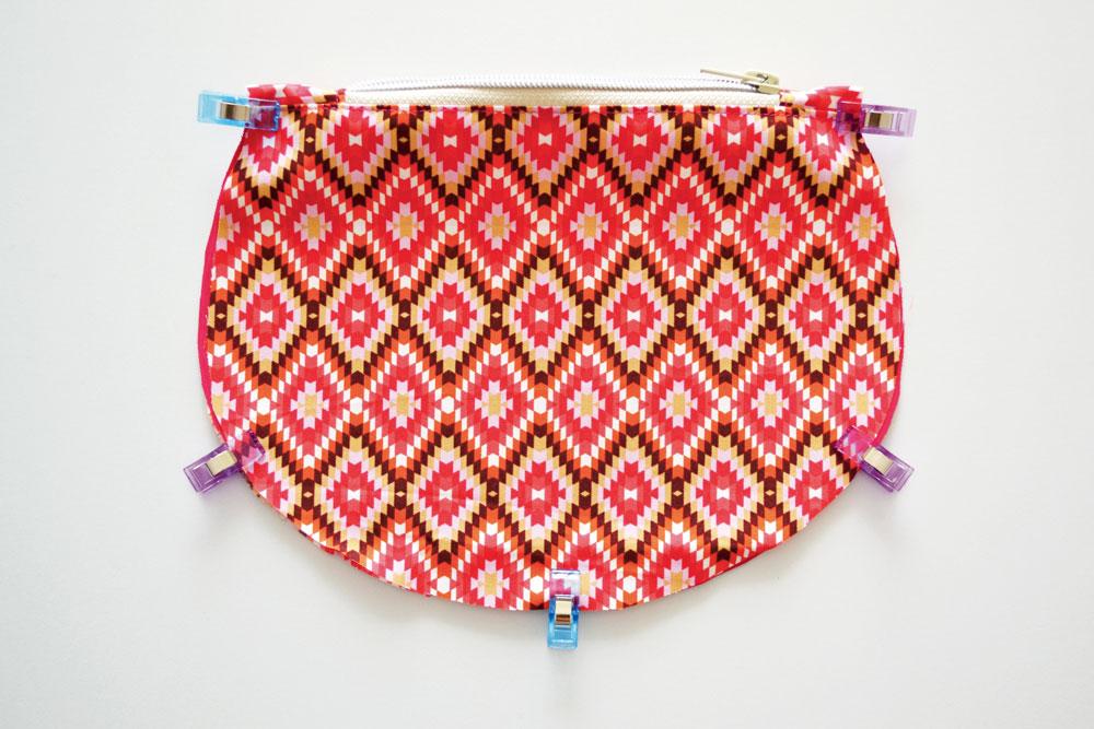Circle Bag nähen –Schnittmuster kostenlos
