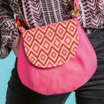 Kostenloses Schnittmuster: Circle Bag