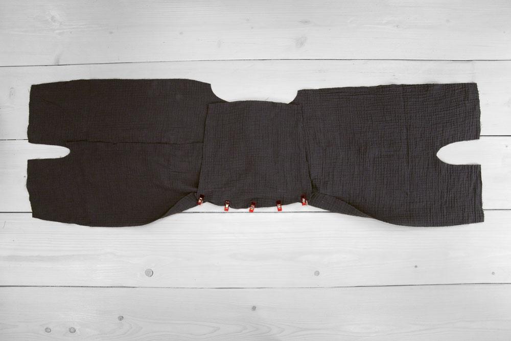 Zwergenanzug aus Wollwalk nähen – Schnittmuster kostenlos